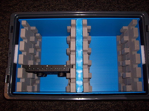 Reusable Packaging Custom Foam Amp Plastic Reusable Packaging
