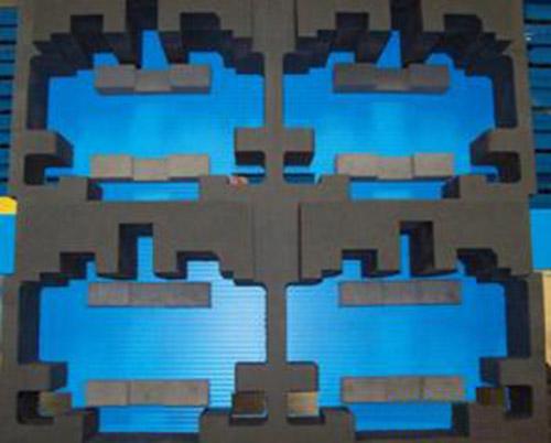 foam cell dunnage buy custom polyethylene foam dunnage. Black Bedroom Furniture Sets. Home Design Ideas